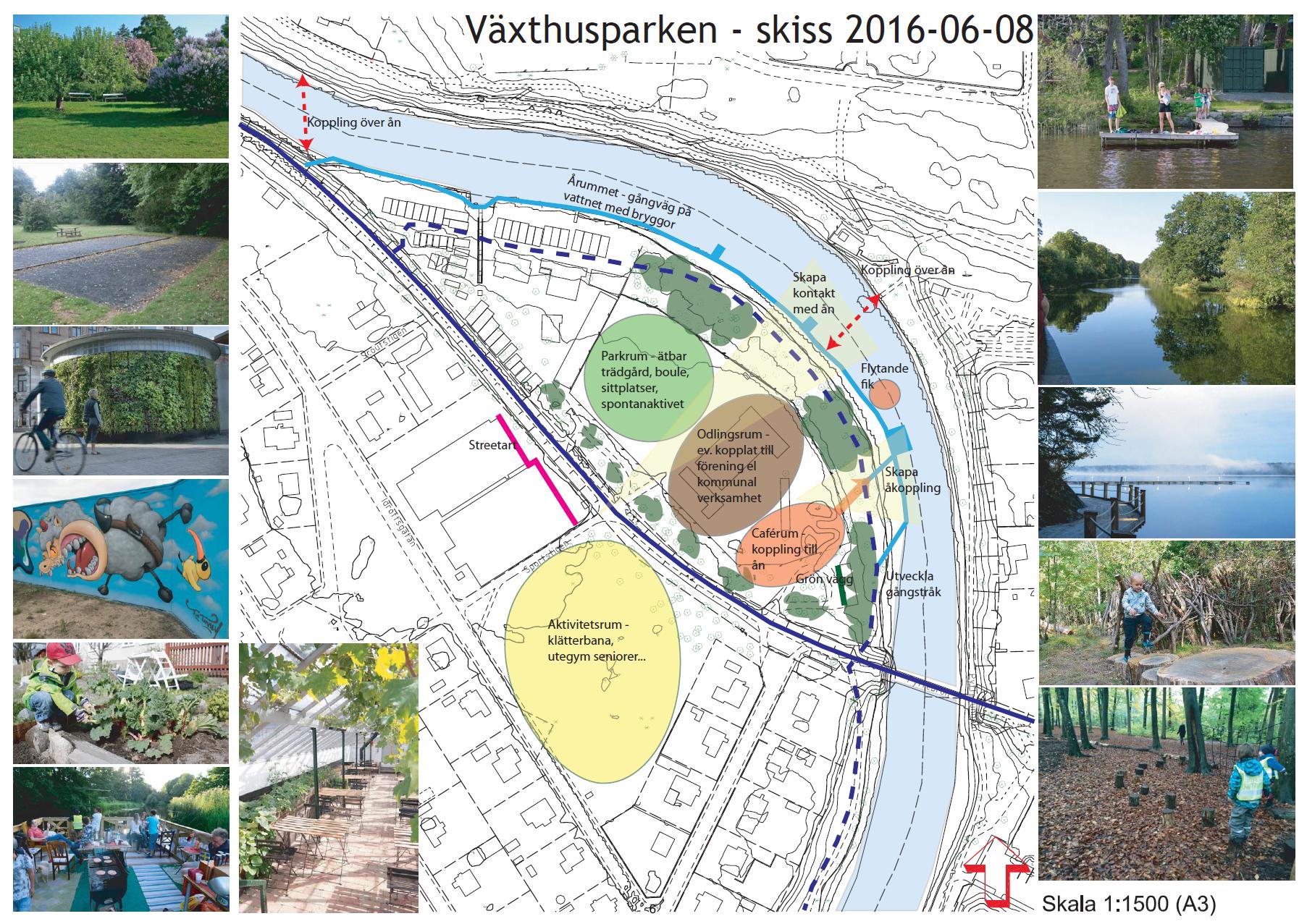 Växthusparken Skiss 2016-06-08 Blad 1